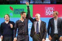 [CABA] Lavagna y Tombolini presentaron Consenso Federal en la ciudad
