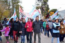 [Neuquén] Libres del Sur marchó en contra del tarifazo