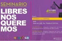 """[La Plata] Seminario """"#LibresNosQueremos"""""""