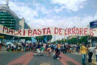 Video de la movilización de Barrios de Pie