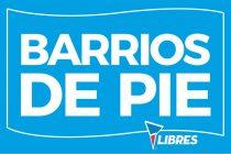 [Mar del Plata] Barrios de Pie inaugurará 20 viviendas populares