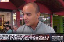 [Moreno] Rebotes del pedido de impugnación a ex carapintada