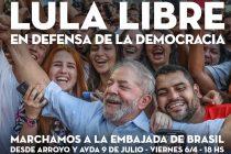 Marchamos a la Embajada de Brasil en defensa de la democracia