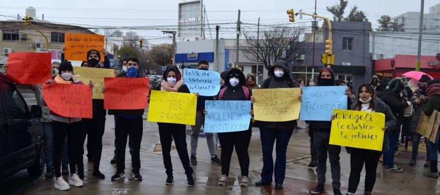 [San Luis] Repudian violencia y agresiones en nueva marcha por Magali Morales.