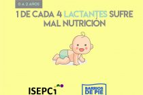 [Chaco] Isepci presentó informe sobre malnutrición infantil