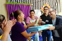"[Chaco] Inauguraron la cooperativa textil ""Mandarinas"""