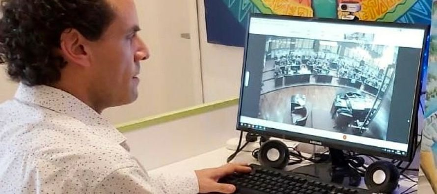 [San Luis] Joaquín Mansilla votó para que la provincia tenga paridad en cargos electivos.