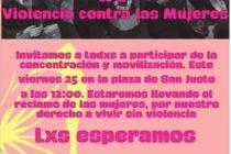 [La Matanza] Movilización para erradicar la violencia de género.