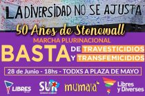 A 50 años de la revuelta de Stonewall. 28 Junio, marchamos.
