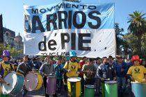"""""""Barrios de Pie está en Libres del Sur"""". Saravia en Página 12."""
