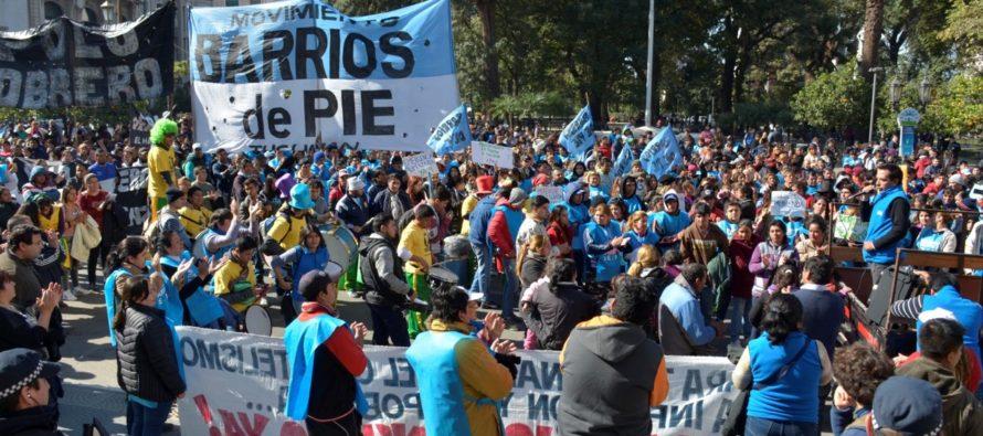 """[Tucumán] Barrios de Pie: """"Con el hambre de la gente no se juega"""""""