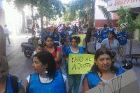 [Pergamino] Marcharon al municipio por la Emergencia Alimentaria y obra pública para las cooperativas