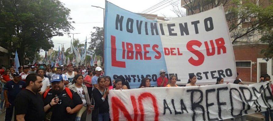 Movilizaciones en todo el país contra la reforma jubilatoria