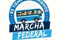 Llega la Marcha Federal a Plaza de Mayo por la agenda social contra el veto de Macri