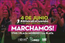 [La Plata] A tres años del grito mundial Ni Una Menos, volvemos a tomar las calles