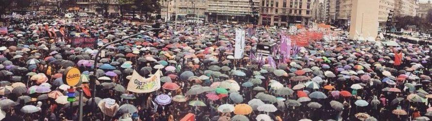 Histórico #ParoNacionaldeMujeres y movilización por nuestros derechos