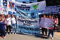 [La Plata] Tras la marcha, reunión con el Subsecretario de Empleo del Min. de Trabajo