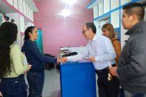[Chaco] Martínez visitó Sáenz Peña con la idea de crear la policía municipal