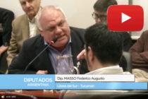 Palabras Diputado Masso en interpelación al Ministro Aranguren