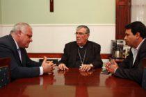 [Tucumán] Federico Masso se reunió con Monseñor Zecca