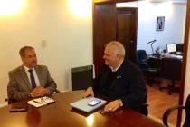 Federico Masso se reunió con Roberto Moro, titular de la SEDRONAR