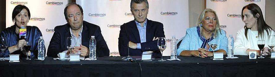 Carrió, la UCR, Vidal, Rodríguez Larreta……cruje Cambiemos. Editorial H. Tumini.