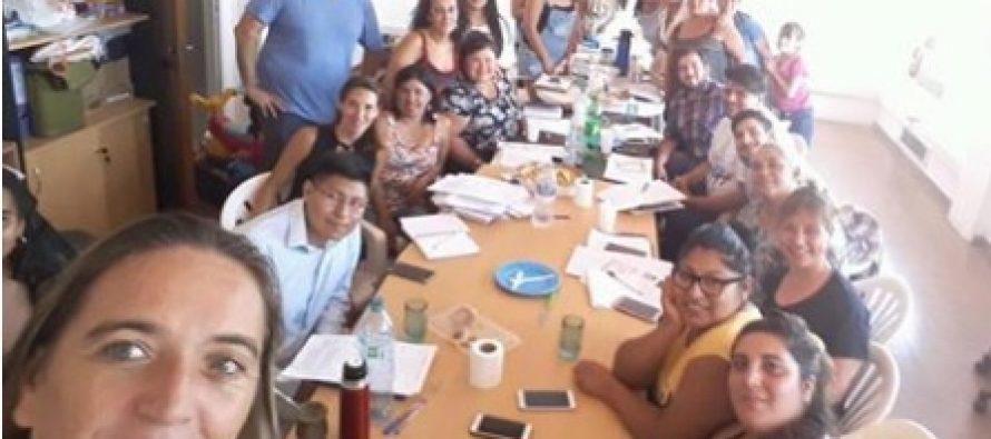 [Bs. As.] Reunión de la mesa provincial de educación y salud de Barrios de Pie