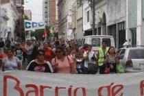 [San Nicolás] Masiva Movilización en repudio a la decisión del Intendente Pasaglia de demoler un centro de Formación de Barrios de Pie
