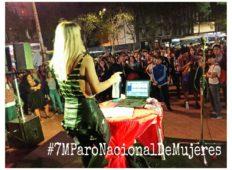 Festival por Paro nacional de Mujeres