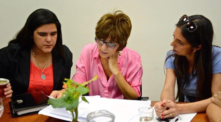 Yanina Muñoz, Stella Maris Córdoba y Soledad Deza