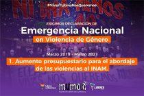 MuMaLá lanza Campaña Emergencia Nacional en Violencias de Género