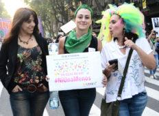 Día Internacional por la eliminación de la violencia contra las mujeres en todo el país