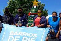 "[Mar del Plata] Jornada ""Navidad Solidaria"" de Barrios de Pie."