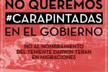 [Moreno] No a los carapintadas en Moreno
