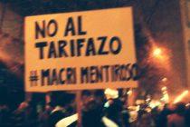 [La Plata] Libres del Sur participó de la movilización contra el tarifazo