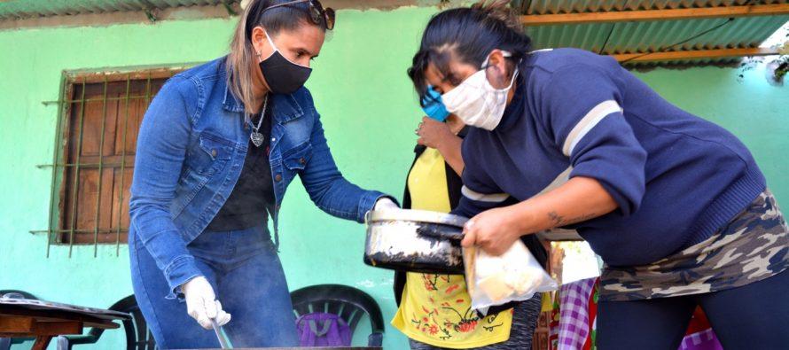 [Chaco] Barrios de Pie instala 100 ollas populares este martes