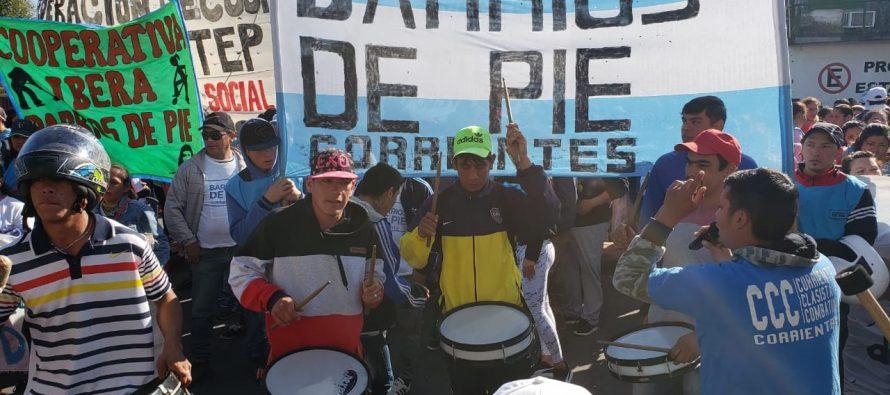 [Corrientes] Crisis económica: movimientos sociales agudizan plan de lucha