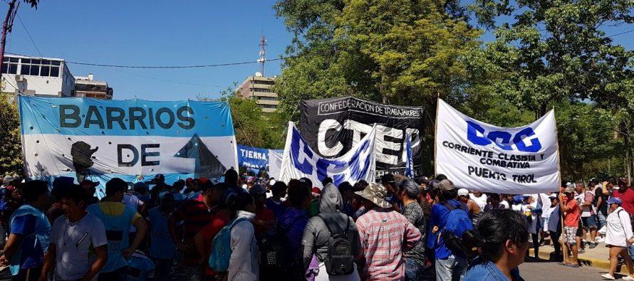 [Chaco] Las organizaciones se movilizaron por la agenda social