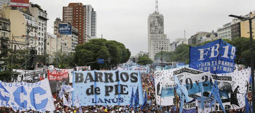Barrios de Pie participará activamente de la movilización del 22 de febrero