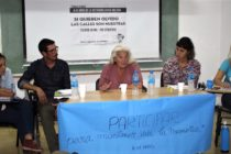 """[La Plata] Maia Luna: """"tenemos una crucial batalla ideológica y cultural que es histórica"""""""