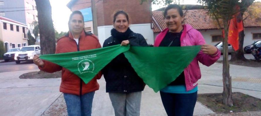 [Corrientes] Barrios de Pie adhirió al Pañuelazo Federal desde Corrientes
