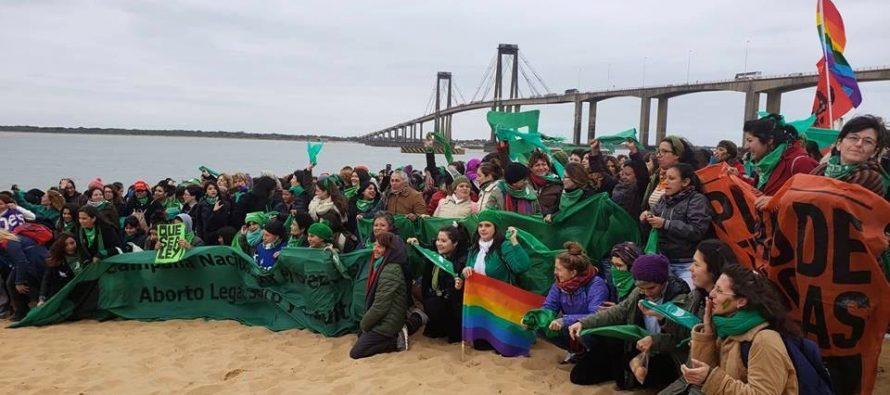 [Corrientes] #PuentazoFederal por la despenalización del aborto