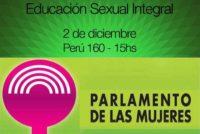 [CABA] Velasco en clase abierta de Educación Sexual en la Legislatura