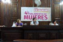 [La Plata] El Parlamento de Mujeres le exigió a Garro presupuesto y políticas de género