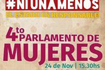 [La Plata] Se viene el 4to Parlamento de Mujeres