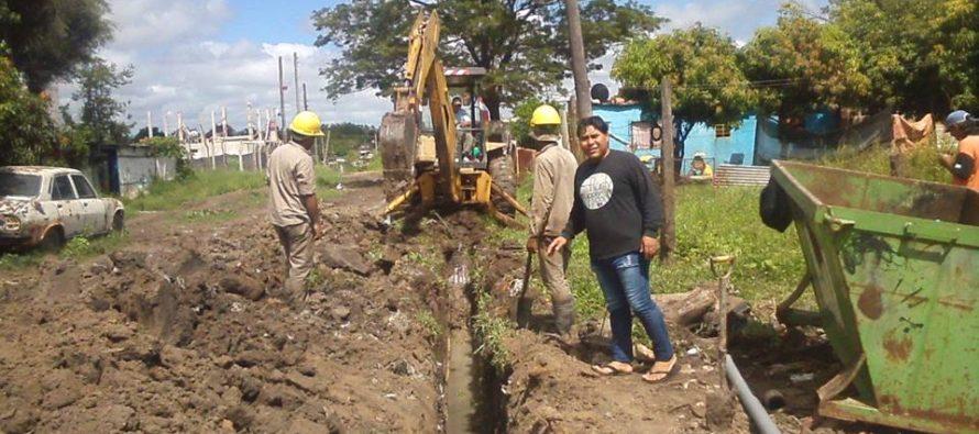 [Corrientes] El Barrio Patono celebra obra que mejorará el servicio de agua potable