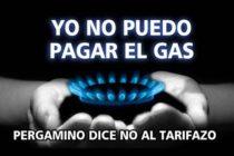 [Pergamino] Asamblea ciudadana contra el aumento del Gas