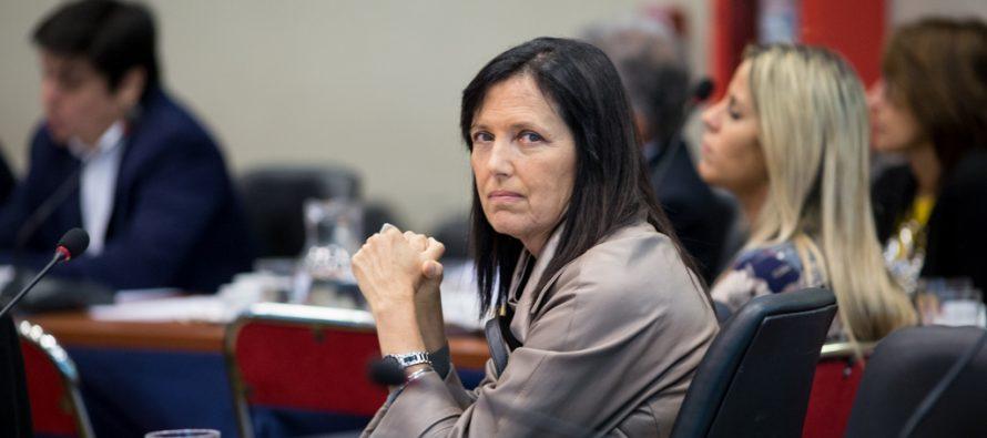 """Claudia Piñeiro: """"Las mujeres estamos acá para defender nuestros derechos y no nos vamos a retirar"""""""