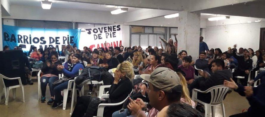 [Gran Bs. As.] Plenario de Libres del Sur, Barrios de Pie, Jóvenes de Pie, MuMaLa y Sur