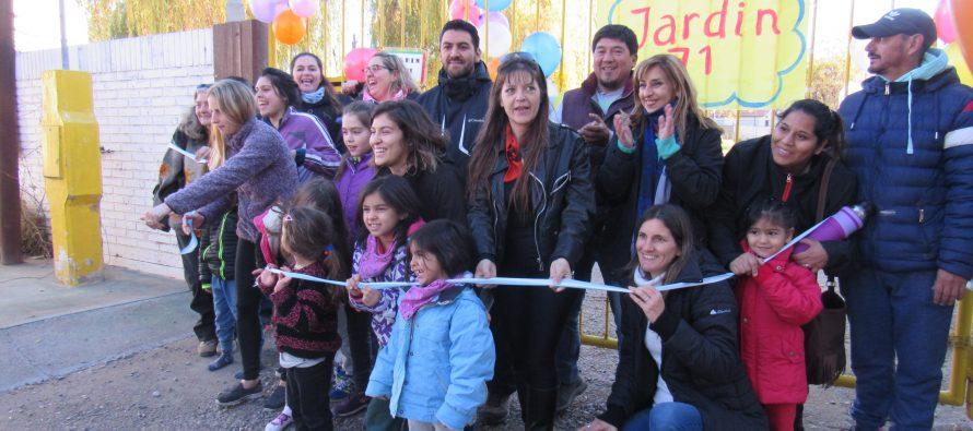 [Plottier] Familiares lograron la apertura del Jardín 71